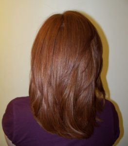 Therapy for permanent hair straightening average