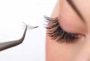 Embed eyelashes