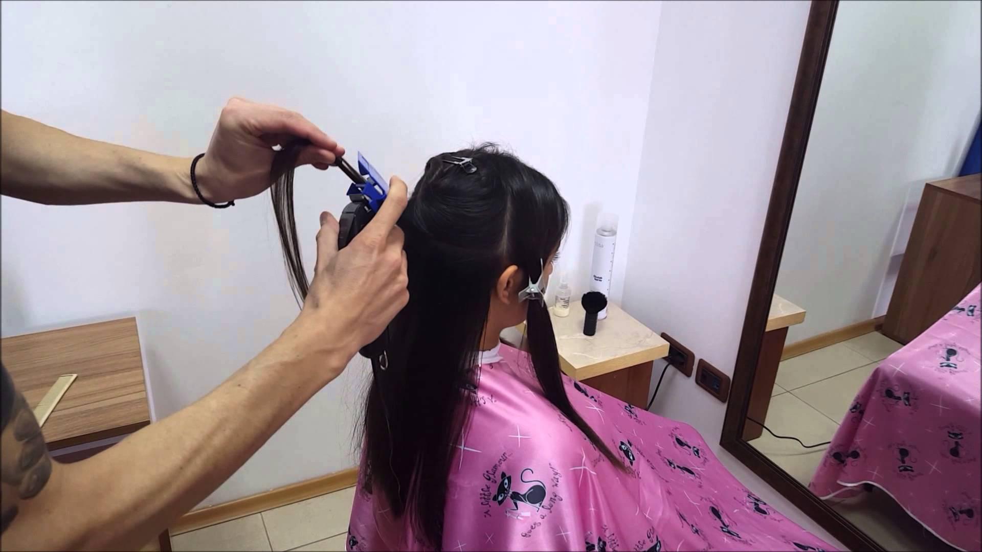 Полировка на косата с полировщик