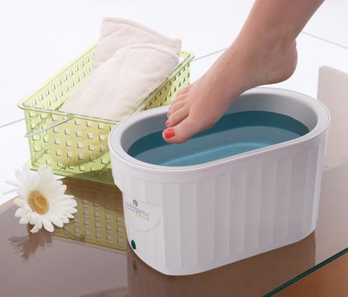 Парафинова терапия за крака